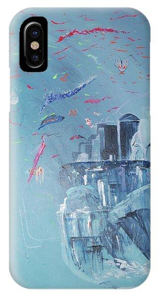 Aqua Resort IPhone Case