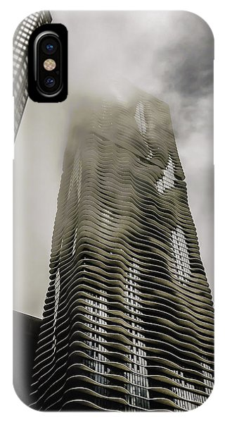 Aqua Skyscraper IPhone Case