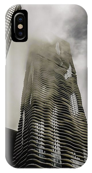 Condo iPhone Case - Aqua Skyscraper by Britten Adams