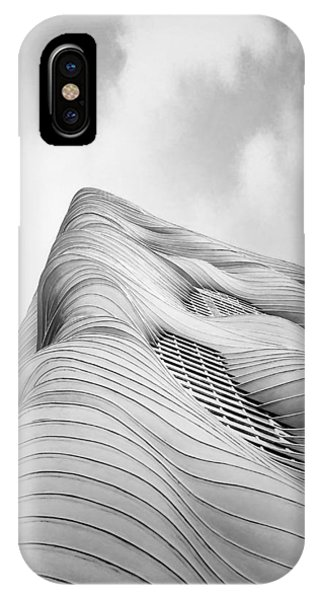 Building iPhone Case - Aqua Tower by Scott Norris
