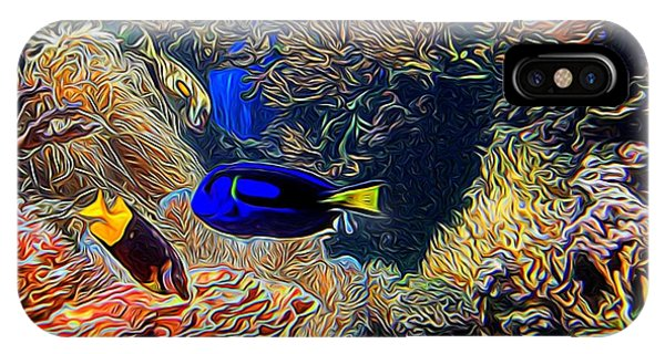 Aquarium Adventures In Abstract IPhone Case