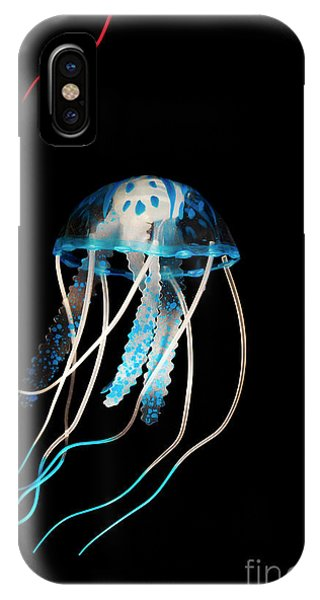 Dark Blue iPhone Case - Aquarium Blue by Jorgo Photography - Wall Art Gallery