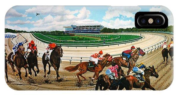 Aqueduct Racetrack IPhone Case