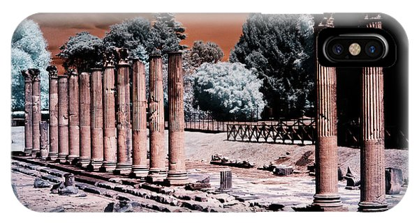 IPhone Case featuring the photograph Aquileia, Roman Forum by Helga Novelli