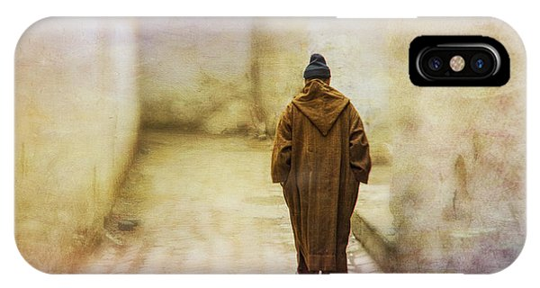 Arab Man Walking - Morocco 2 IPhone Case