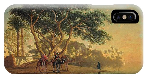 Arab Oasis IPhone Case