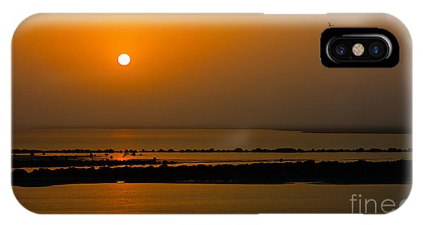 Arabian Gulf Sunset IPhone Case