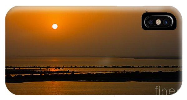 Arabian Gulf Sunset IPhone Case