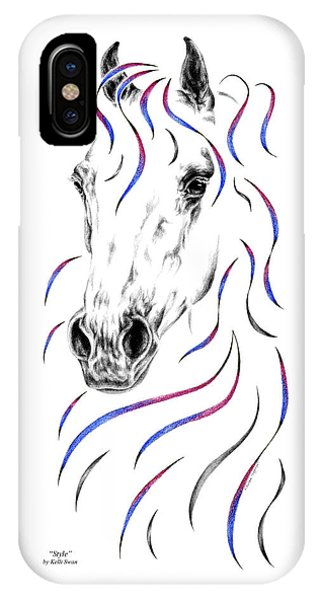 Arabian Horse Style IPhone Case