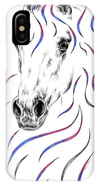 Arabian Horse Style IPhone Case