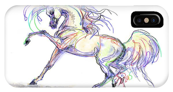 Arabian Stallion Talk IPhone Case