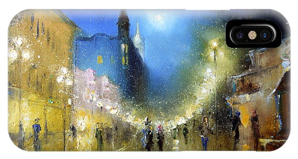 Arbat Night Lights IPhone Case