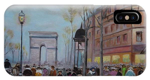 Arc De Triompfe - Lmj IPhone Case