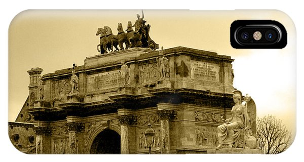 Arc De Triomphe Du Carrousel  IPhone Case