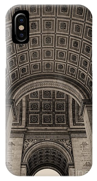 Arc De Triomphe Interior IPhone Case