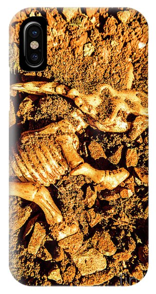 Object iPhone Case - Archaeology Dig by Jorgo Photography - Wall Art Gallery