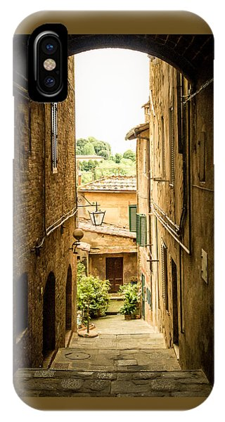 Arched Alley IPhone Case