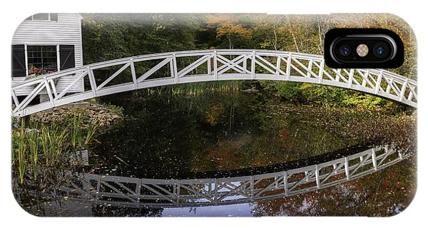 Arched Bridge-somesville Maine IPhone Case