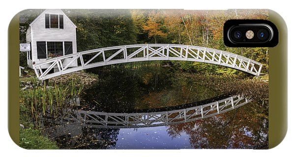 Arched Bridge-somesville Maine IPhone Case