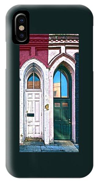 Door One And Door Too IPhone Case