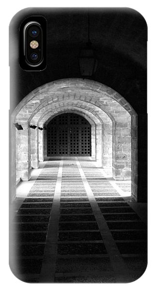 Arched Hallway In Palma IPhone Case