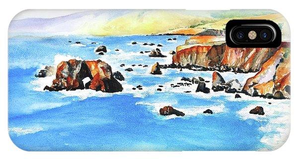 Arched Rock Sonoma Coast California IPhone Case