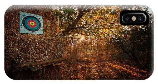 Archery Autumn IPhone Case