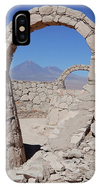Pukara De Quitor Arches IPhone Case