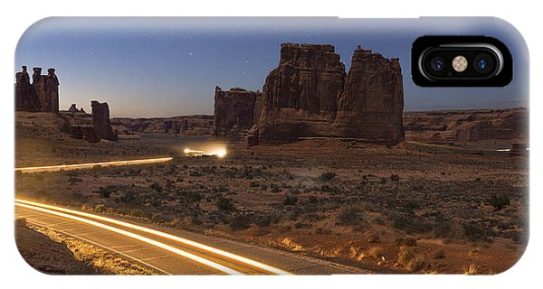 Arches Evening Exit IPhone Case