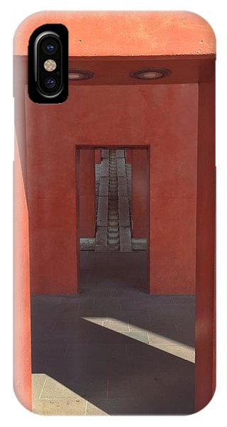IPhone Case featuring the photograph Arches In Front Of Stairs by Dirk Jung