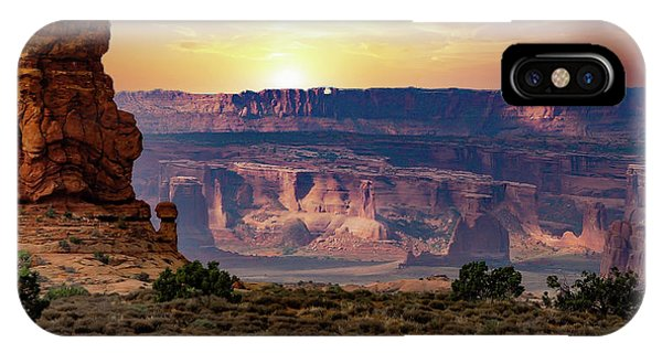 Arches National Park Canyon IPhone Case