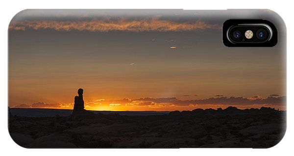 Arches National Park Sunset IPhone Case