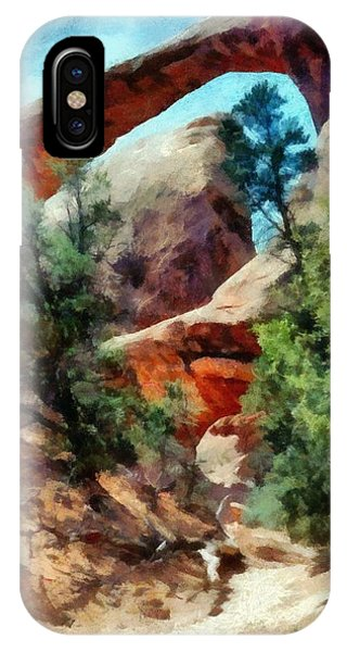 Arches National Park Trail IPhone Case