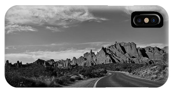 Arches Road IPhone Case