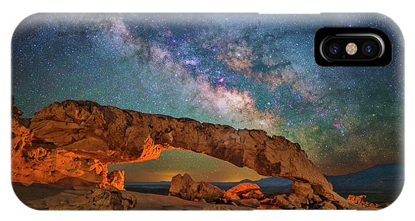 Arching Over The Arch IPhone Case