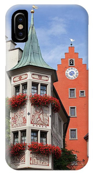 Architectural Details In Old City IPhone Case