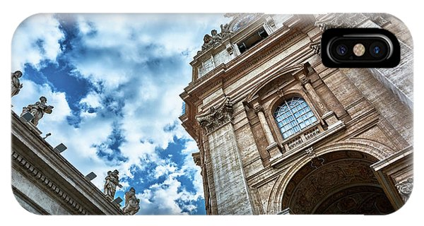 Architectural Majesty On Top Of The Sky IPhone Case