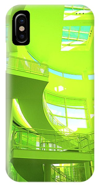 Green Splash Architecture IPhone Case