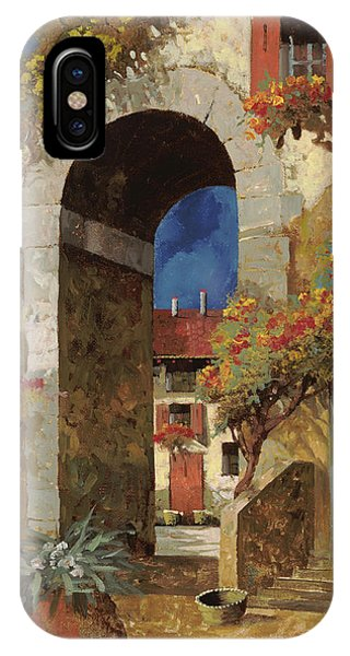 Arched iPhone Case - Arco Al Buio by Guido Borelli