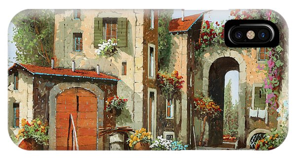 Arched iPhone Case - Arco Finale by Guido Borelli