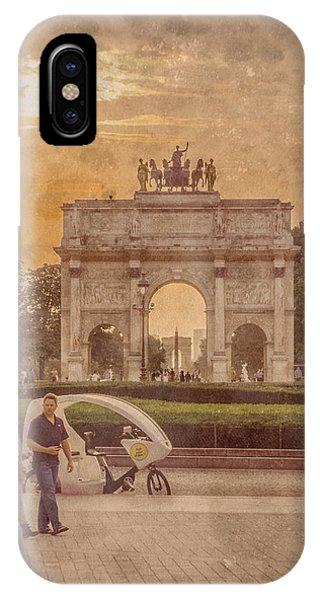 Paris, France - Arcs IPhone Case
