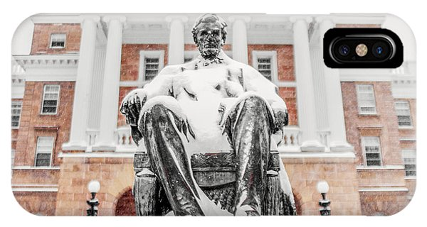 Monument iPhone Case - Arctic Abe by Todd Klassy