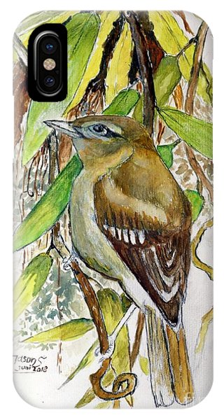 Arctic Warbler IPhone Case