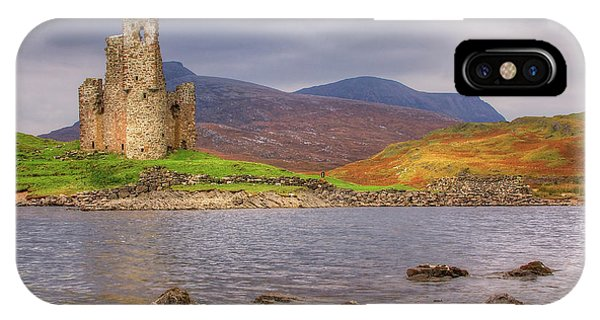Ardvreck Castle IPhone Case