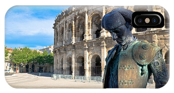 Arenes De Nimes Bullfighter IPhone Case