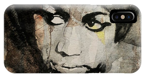 Rhythm And Blues iPhone X / XS Case - Aretha Franklin - Don't Play That Song For Me  by Paul Lovering