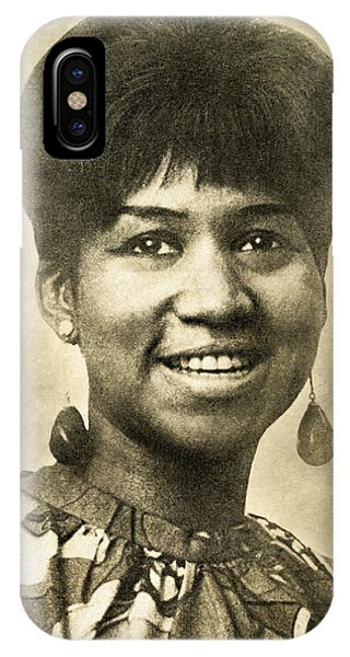 Aretha Franklin Queen Of Soul IPhone Case