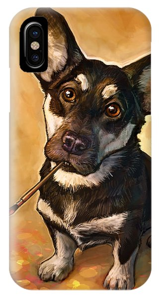 Dog iPhone Case - Arfist by Sean ODaniels