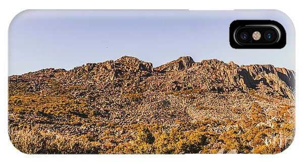 Rocky Mountain iPhone Case - Arid Australian Panoramic by Jorgo Photography - Wall Art Gallery