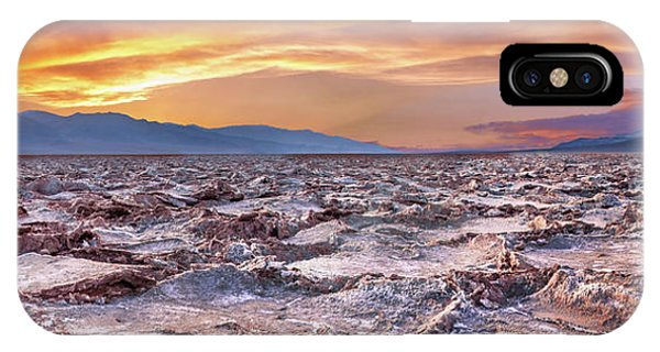 Death Valley iPhone Case - Arid Delight by Az Jackson